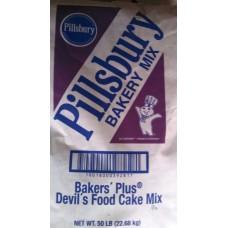 Pillsbury Devils Food Plus 50lb