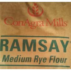 Rye flour Medium Ramsey 50 lb - Conagra