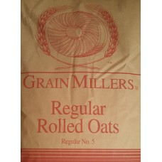 Oats Rolled Regular 50 lb - Grain Millers