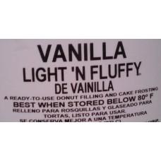 Vanilla Light & Fluffy 35 lb